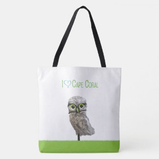 Cape Coral Burrowing Owl Tote Bag