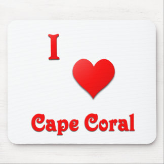 Cape Coral -- Red Mouse Pad