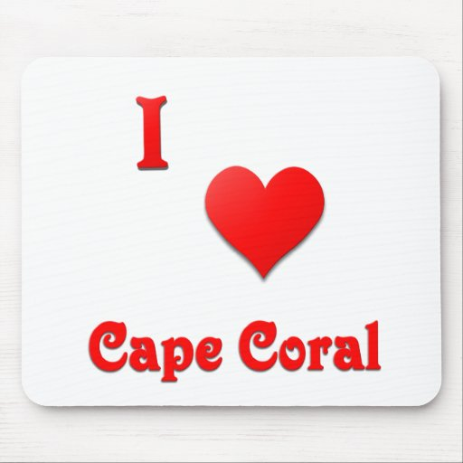 Cape Coral -- Red Mousepads