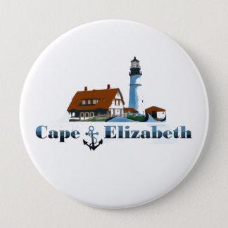 Cape Elizabeth. 10 Cm Round Badge