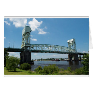 Cape Fear Memorial Bridge Greeting Card