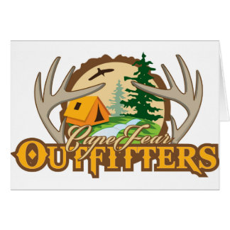 Cape Fear Outfitters Greeting Card