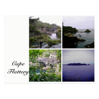 Cape Flattery collage postcard