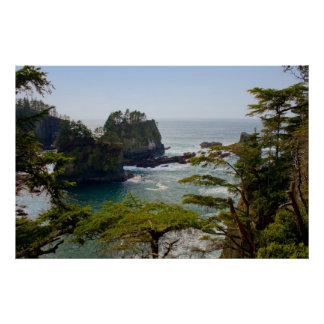 Cape Flattery Inlet, Washington Print