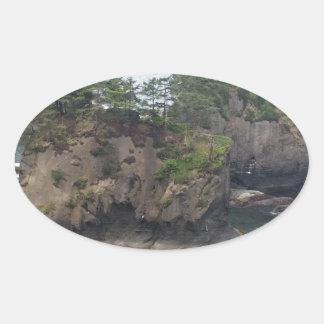 Cape Flattery Oval Sticker