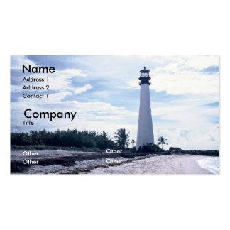 Cape Florida Lighthouse Business Card Templates