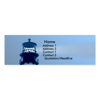 Cape Florida Lighthouse Pack Of Skinny Business Cards