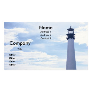 Cape Florida Lighthouse Pack Of Standard Business Cards