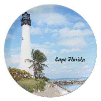 Cape Florida Lighthouse Plate