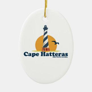Cape Hatteras. Ceramic Ornament