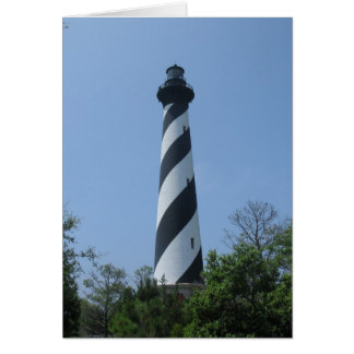 Cape Hatteras Light House Card