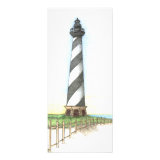 Cape Hatteras Lighthouse bookmark Rack Card