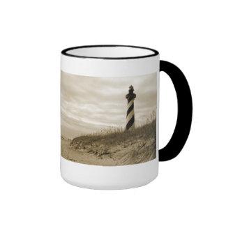 Cape Hatteras Lighthouse Ringer Mug