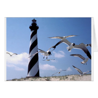 Cape Hatteras Lighthouse North Carolina lighthouse Card