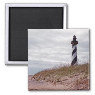 Cape Hatteras Lighthouse Square Magnet