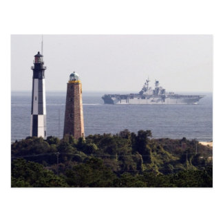 Cape Henry Lighthouses Postcard