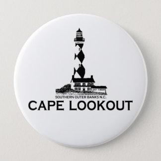 Cape Lookout. 10 Cm Round Badge