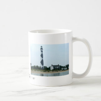 Cape Lookout Lighthouse Coffee Mugs