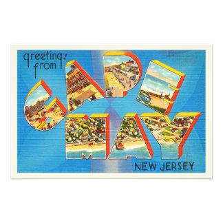 Cape May #2 New Jersey NJ Vintage Travel Postcard- Photo Print