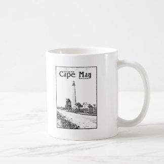 Cape May Basic White Mug