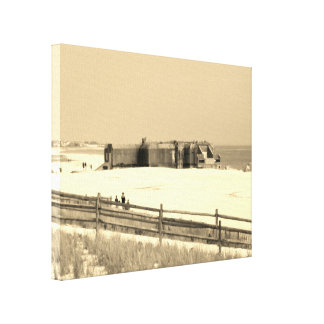 Cape May Bunker Canvas Print