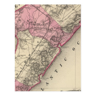 Cape May County, NJ Postcard