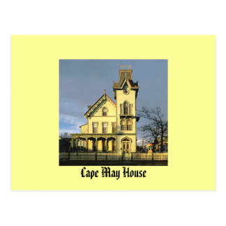 Cape May House Postcard