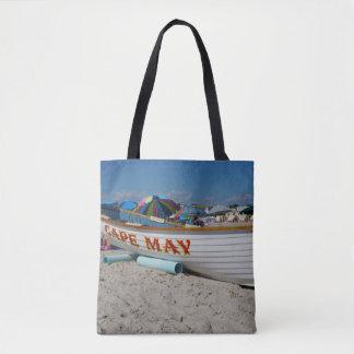 Cape May Lifeboat Tote Bag