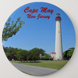 Cape May Lighthouse 6 Cm Round Badge