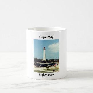 Cape May Lighthouse Basic White Mug