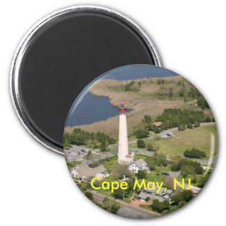 Cape May Lighthouse, Cape May, NJ Magnet