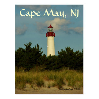 Cape May Lighthouse greeting card/postcard Postcard