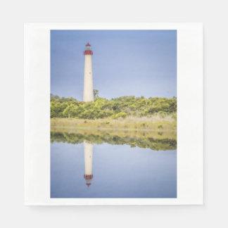Cape May Lighthouse Napkins Disposable Serviette