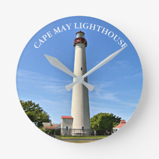 Cape May Lighthouse, New Jersey Clock
