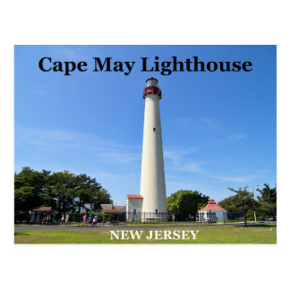 Cape May Lighthouse, New Jersey Postcard