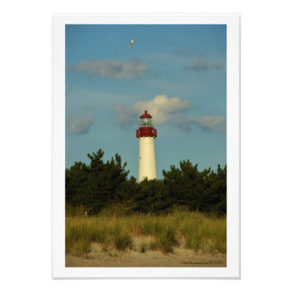 Cape May Lighthouse Photo Print