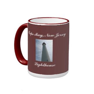Cape May Lighthouse Ringer Mug
