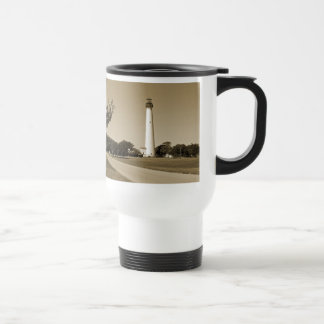 Cape May Lighthouse Stainless Steel Travel Mug