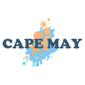 Cape May. Photo Sculpture Badge