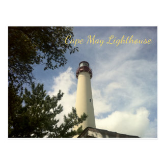 Cape May Point Lighthouse State Park NJ Postcard