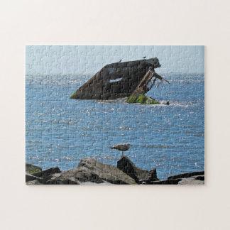 Cape May Shipwreck Jigsaw Puzzle
