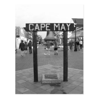 Cape May * Sign Postcard