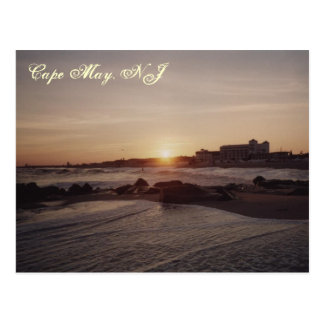 Cape May Sunset Postcard