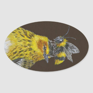 Cape May warbler stickers