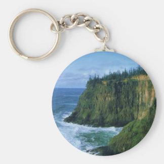 Cape Meares Oregon Coast Key Ring