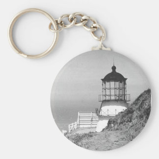 Cape Mendocino Lighthouse Key Ring