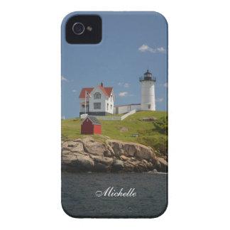 Cape Neddick Lighthouse iPhone 4 Case-Mate Case