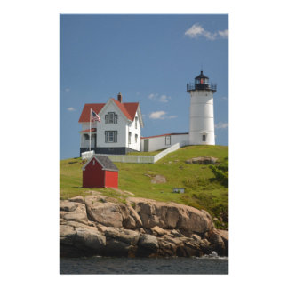 Cape Neddick Lighthouse Stationery