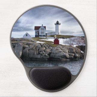 "Cape Neddick  ""Nubble"" lighthouse York, Maine WOW! Gel Mouse Pad"