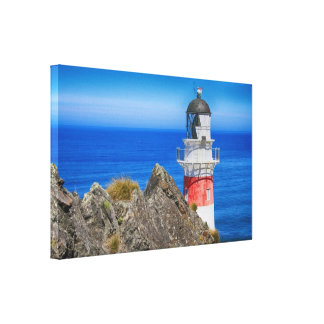 Cape Palliser New Zealand Lighthouse Gallery Wrapped Canvas